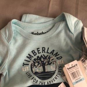 Timberland Matching Sets - Timberland 3 Piece Set 6-9 months